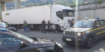 detenido, camionero, interceptados, kilos, droga, procedente, España,