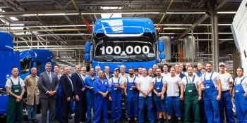 DAF Trucks, fabrica, número, 100.000. camiones, empresas, fabricantes del sector,