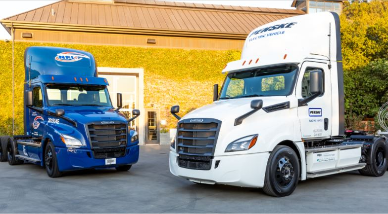Daimler Trucks, presenta, Freightliner eCascadia, eléctricos,