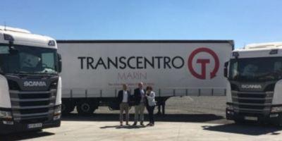 Transcentro Marín, GNL. camiones, Scania