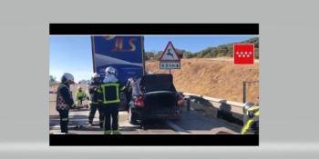 fallecido, dos, heridos, leves, colisión, coche, camión,