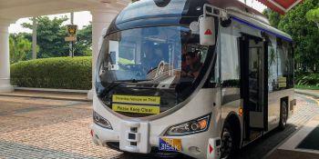Singapur, autobuses, autónomos, esquivan, transporte público,