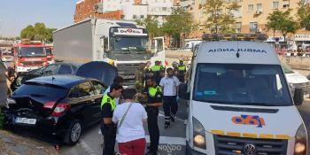detenido, camionero, ebrio, provocó, seis, heridos, Sevilla,