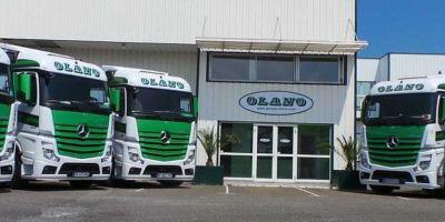 Grupo Olano, empresas, transporte refrigerado, expansión,
