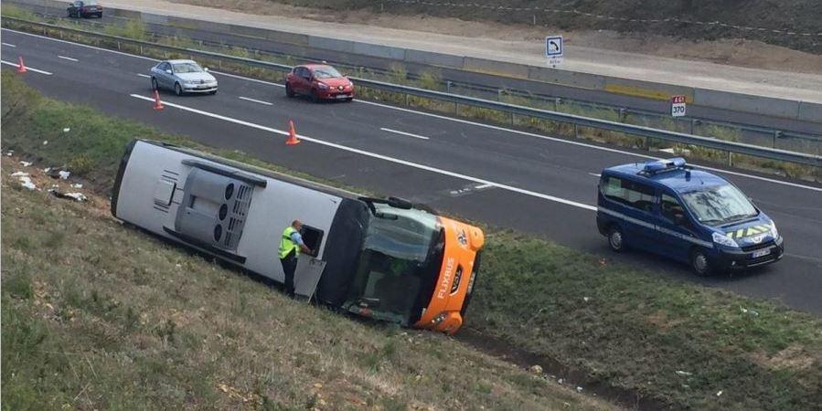 fallecido, heridos, accidente, autobús, ruta, Barcelona, Burdeos,