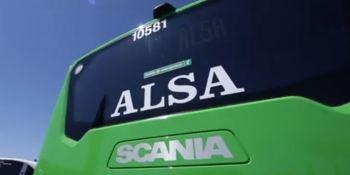 Scania, Alsa, autobús, Interlink, GNL, empresas, fabricantes del sector,