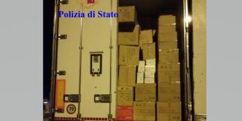 detenido, camionero, robo, electrodomésticos, valorados, euros, vídeo,