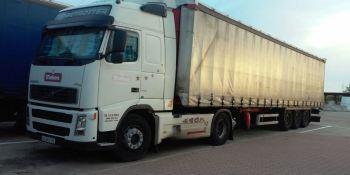 alerta, camion, robado, volvo, blanco, matrícula, plataforma,