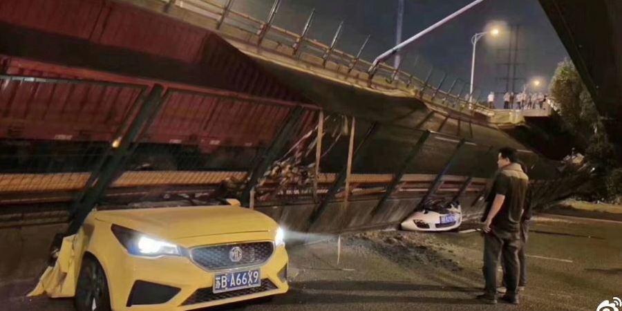 fallecidos, heridos, colapso, puente, China, Vídeo, fotos,
