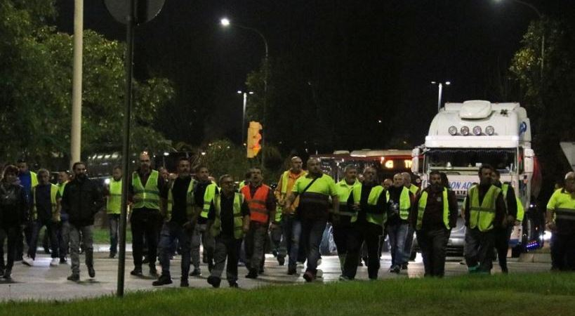Incidencia, huelga, transporte, logística, Barcelona,