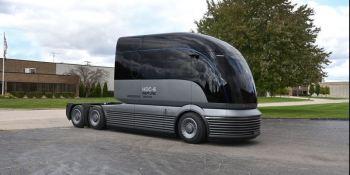 HDC-6 NEPTUNE, Hyundai, presenta, camión, hidrógeno, fotos,