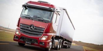 lanzamiento, Brasil, nuevo, Mercedes-Benz, Actros,