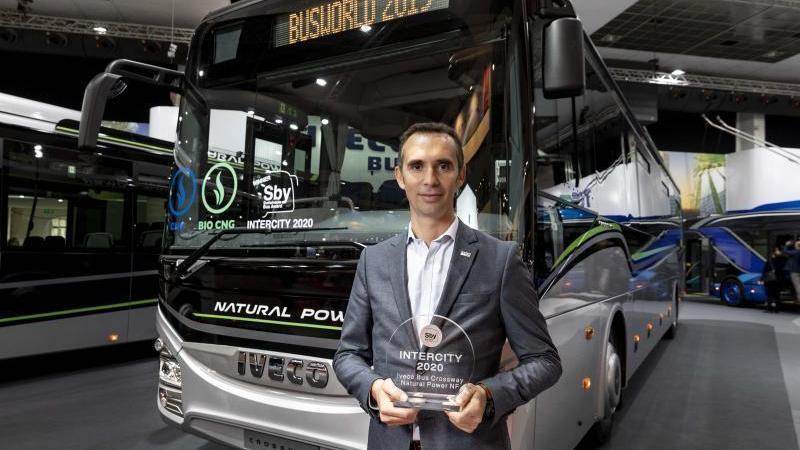 Iveco Bus, premio, feria, autobús, Bélgica,