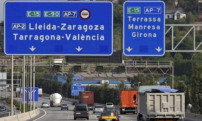 Cataluña. suspende, restricciones, camiones,