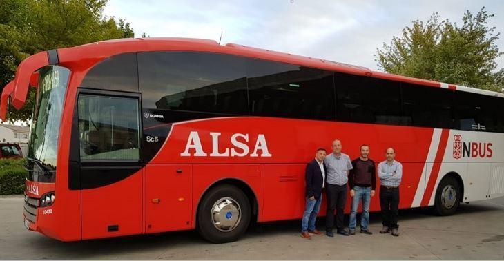 nueva, concesión, transporte, público, Pamplona, Soria,