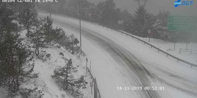 estado, carreteras, afectadas, nieve, España,