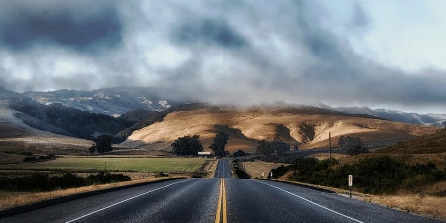 conducir, carretera, estado, conductor, clima,