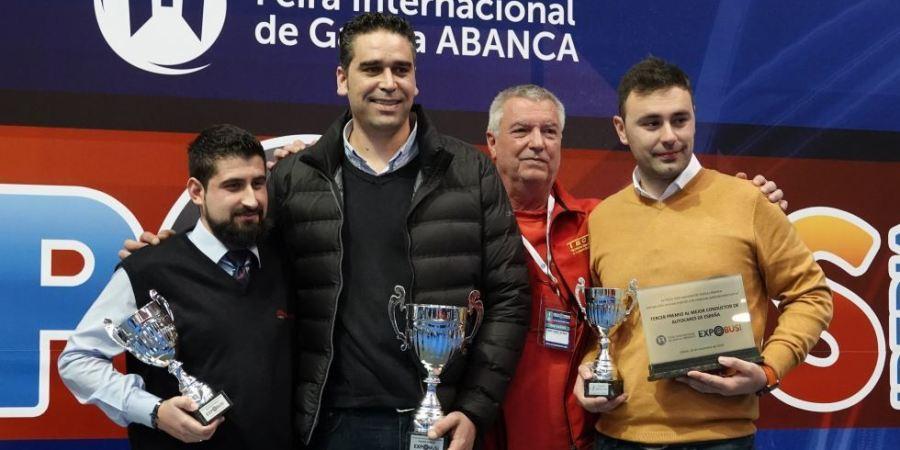gallego, vencedor, mejor conductor, autobús, España, 2019
