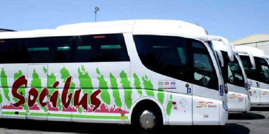 huelga, trabajadores, empresa, autobuses, Socibus,