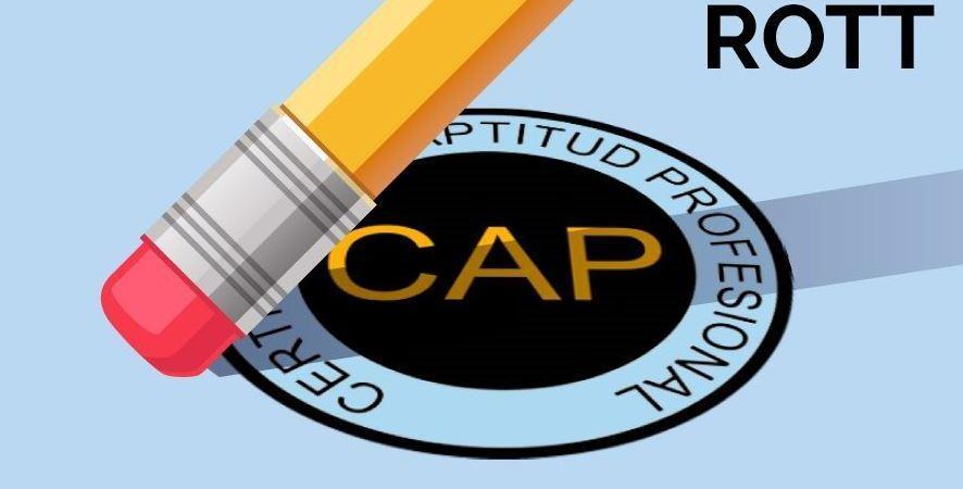 nuevo ROTT, cursos, CAP, formación,