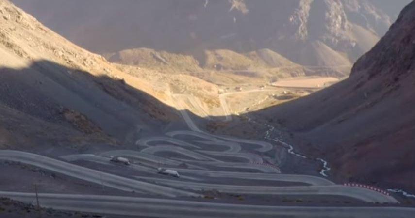 conducir, carretera, peligrosa, Chile,