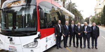 presentación, autobús, autónomo, Grupo Irizar, Málaga,