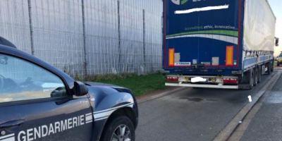 camionero, fallecido, Francia,