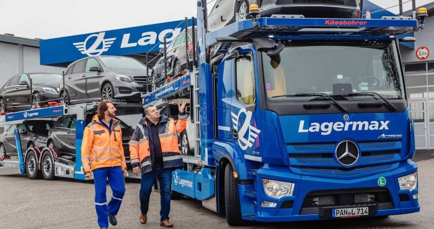 mercedes, actros, portacoches, Lagermax,.
