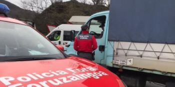 control, Policia Foral Elizondo, camionero, denunciado,