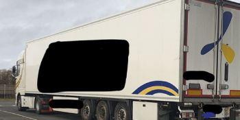 paralizados, Reino Unido, dos camiones, Portugal,