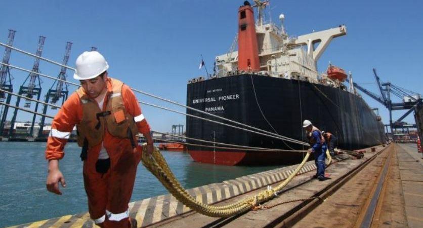 CGT, huelgas, trabajadores, puertos, Francia,