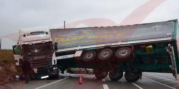 vuelco, camión, Portugal, vídeo,