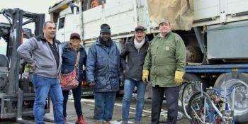solidaridad, ayuda, camioneros, franceses, Mali,