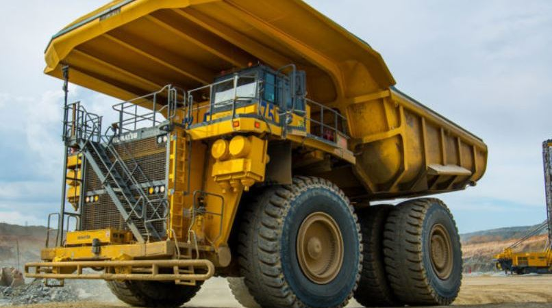 camión minero, más grande, motor hidrógeno, desarrollo,