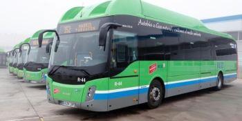 13, nuevos autobuses, gas GNC, consorcio regional, transportes Madrid,