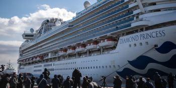 Crucero Princess, coronavirus, afectados, transporte marítimo, viajes,