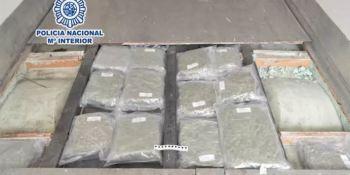 camionero, detenido, 80, kilos, marihuana, transportaba,