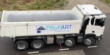 proyecto PRoPART, Scania, prueba, posicionamiento, vehículos autónomos, sistema