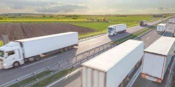 El transporte de bienes por carretera continúa por debajo del 20%