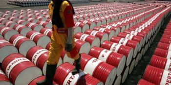 barril, petróleo, West Texas, baja, 13 dólares,