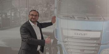 Lionel Bozian, empezar, DAF Trucks, París