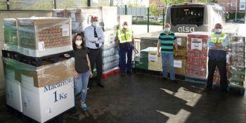 empleados, Alsa, 7.000 kilos, Banco de Alimentos,
