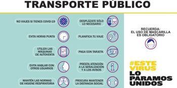 campaña, concienciar, usuarios, transporte, público, vídeos,