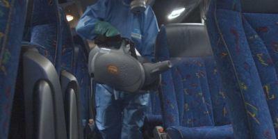 El transporte de viajeros ya cuenta con un protocolo de limpieza y desinfección