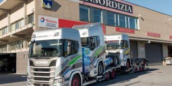 Transordizia, estrena, primer, Scania, portavehículos, GNL,