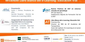 webinar, e-Learning, educación, vial,