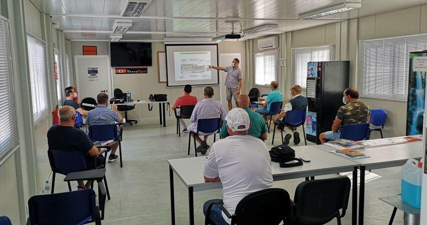 Bolsaport imparte cursos CAP para Conductores en el Puerto de Valencia