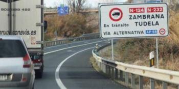 CETM La Rioja lamenta el aluvión de denuncias recibidas por circular por la N-232