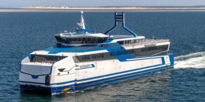 Completan con éxito las pruebas del ferry con motores a GNL