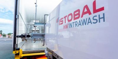 La desinfección de Istobal es la más eficaz y segura para la limpieza interior de camiones